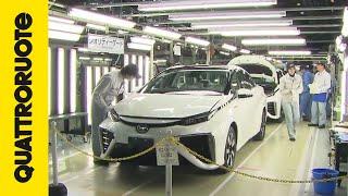 Toyota Mirai 2015: il Quality Control