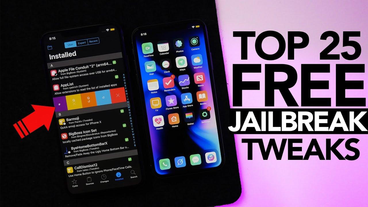 Top 25 Best FREE iOS 12 4 Jailbreak Tweaks to Install First!