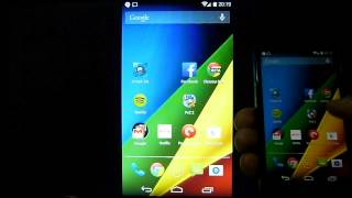 Moto G phone mirroring screen to Chromecast without root or hacks