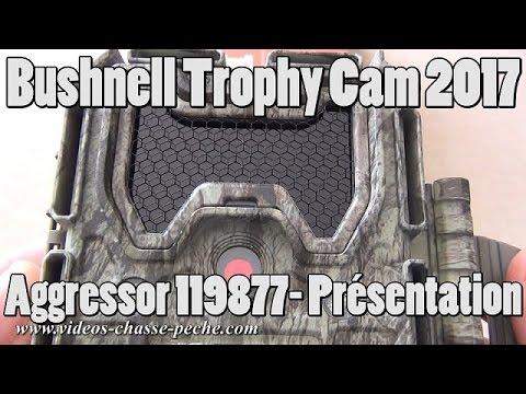 Bushnell Trophy Cam Aggressor No Glow 2017 réf. 119877 - Présentation