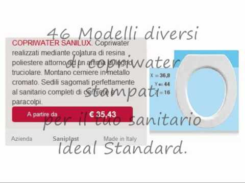 Copriwater ideal standard chebagno youtube for Ideal standard cantica copriwater