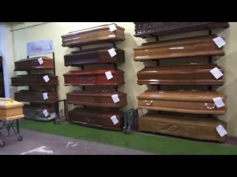 Casse Funebri Deposito Cofani Funebri Magazzino Bare Coffins Casket Funeral Home Palermo Italy PA