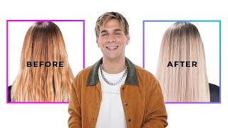 How To Tone Brass/ Yellow Out Of Your Hair Instantly!