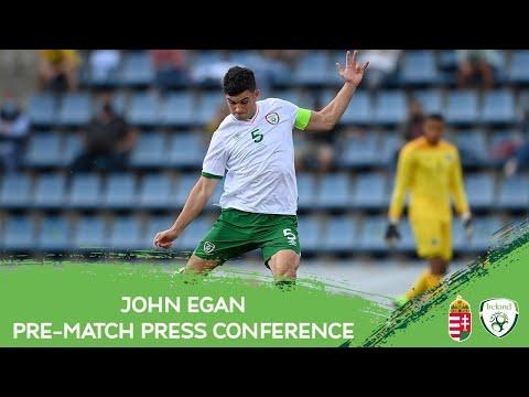 PRE-MATCH PRESS CONFERENCE   John Egan