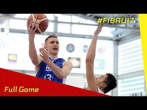 Bosnia and Herzegovina v Chinese Taipei - CL 9-16 - Full Game - FIBA U17 World Championship 2016