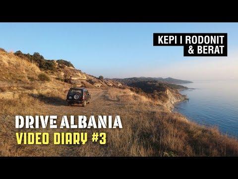 Drive Albania Video Diary #3: Kepi i Rodonit & Berat