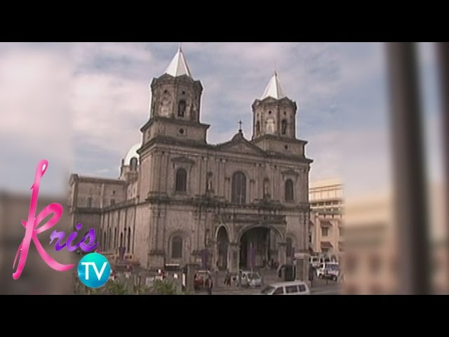 Kris TV: Kris, KC and Angeline visit Holy Rosary Parish