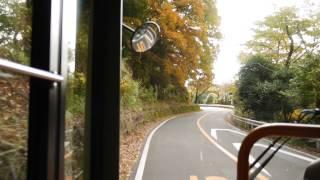 【前面展望】湯河原駅~奥湯河原~箱根町【箱根登山バス】