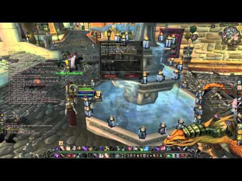 Hacker hits Stormwind - Tichondrius