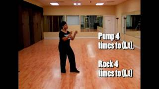 How to Do-Big Girl Swang Line Dance Instructions w/ The Line Dance Queen (Official)