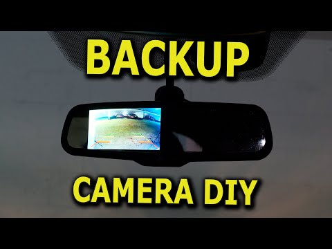 Backup Camera With A Rearview Mirror Display Output DIY