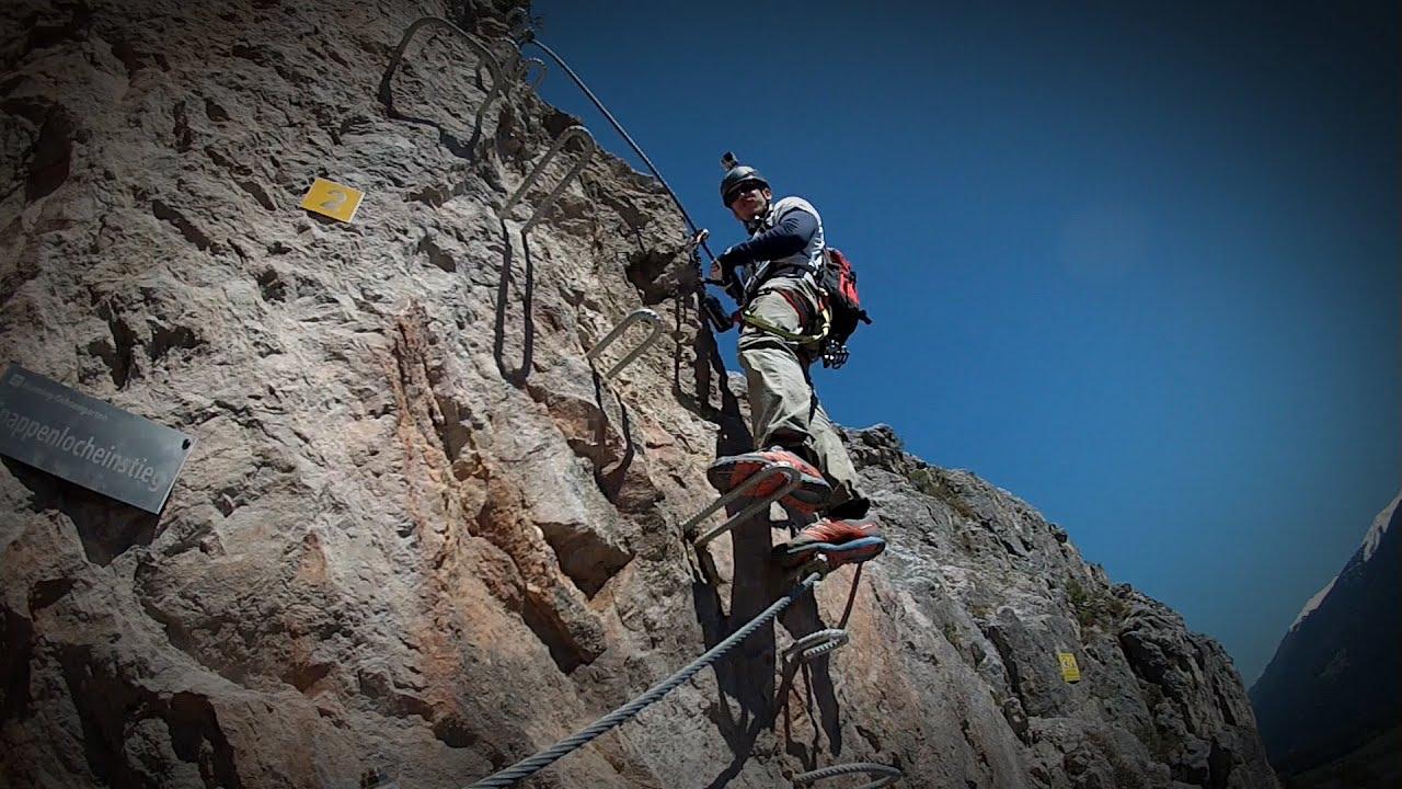 Klettersteig Oetztal : Klettersteig stuibenfall