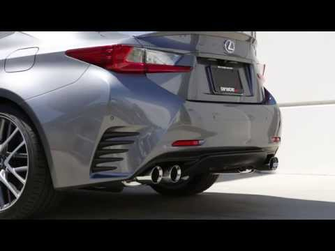 Tanabe Medalion Touring Exhaust for 2015 Lexus RC-350 F-Sport (Part# T70181A)