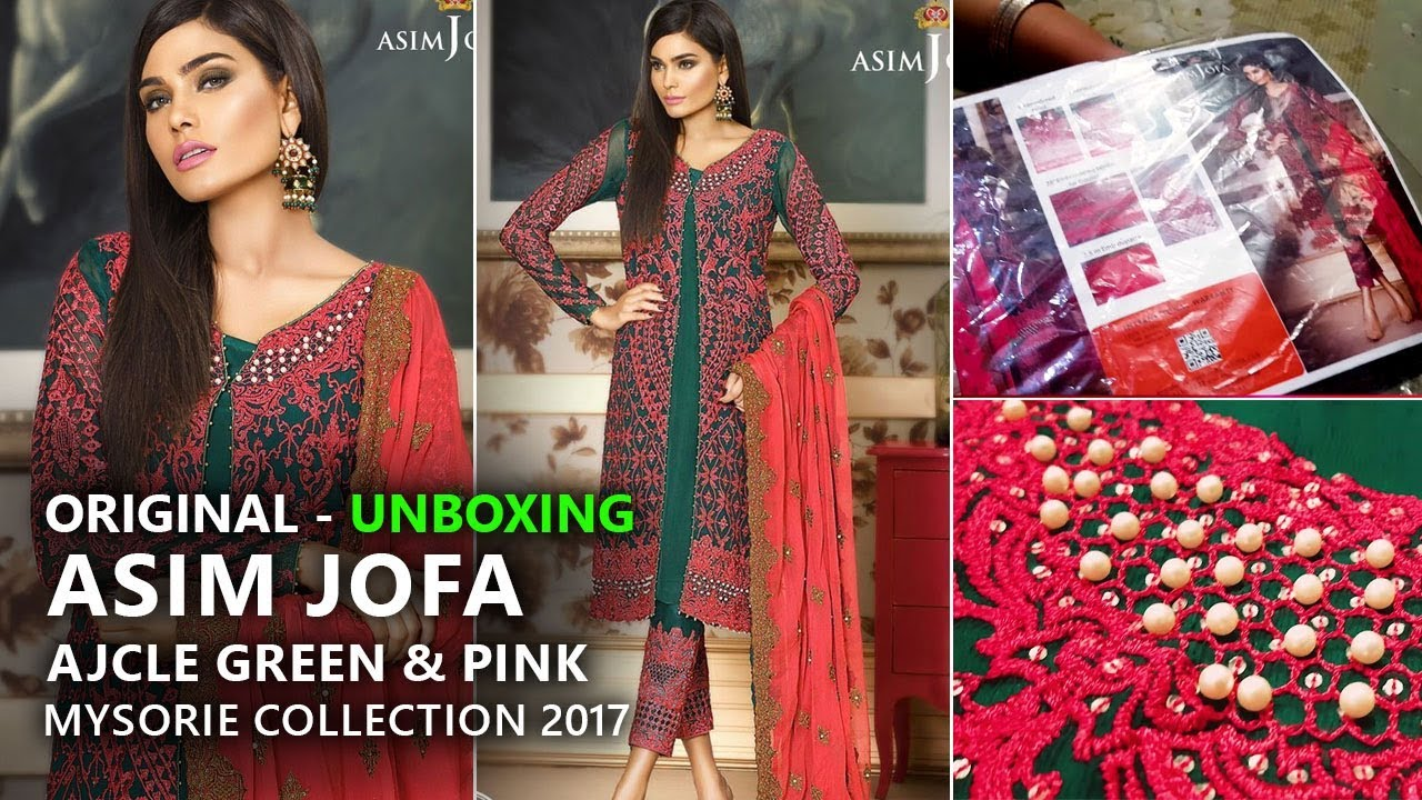 938c361e9d Asim Jofa Chiffon Collection 2017 - AJCLE 5A Mysorie Limited Edition -  Pakistani Wedding Dresses. Sara Clothes