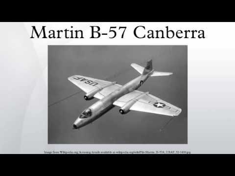 Martin B-57 Canberra