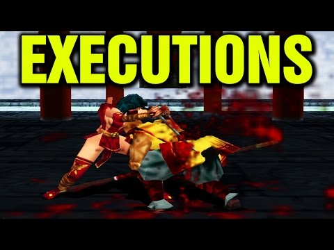 Mace The Dark Age All Executions Fatalities Finishing Moves Bloody Kills Fatality N64 Nintendo 64