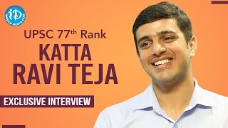 UPSC 77th Rank Holder Katta Ravi Teja Exclusive Interview | Dil Se With Anjali #230