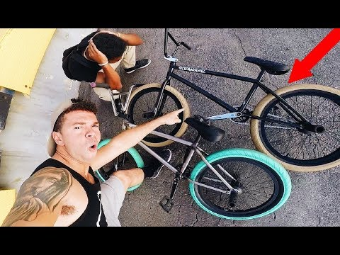 SURPRISED HIM WITH A BRAND NEW BMX BIKE!