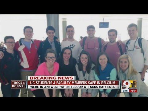University of Cincinnati students in Belgium safe after attacks