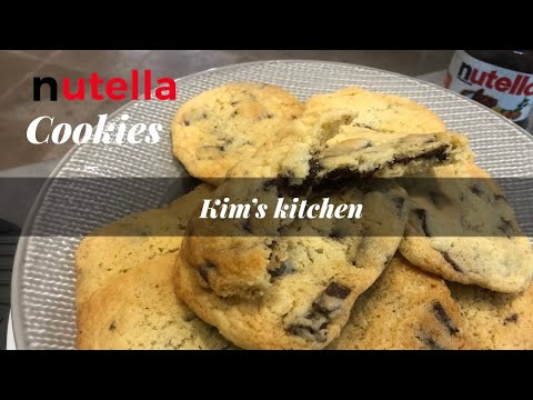 nutella-cookies-recipe,-quick-and-easy-/-recette-cookies-au-nutella,-facile-et-rapide