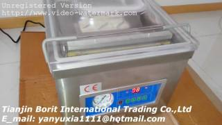 DZ 260 Table Deskto Vacuum Chamber  Packing Machine ,Vacuum Sealing machine how to use it
