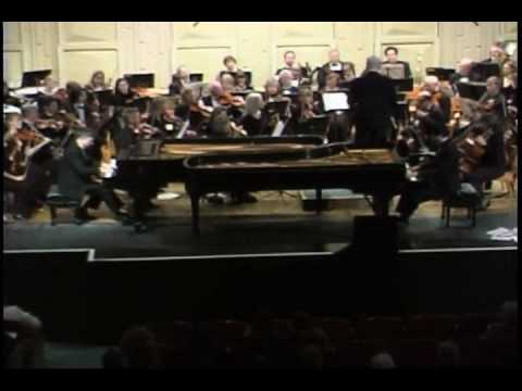 Poulenc Two Piano Concerto (2nd Mvt)