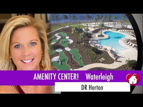 New Homes Winter Garden Florida Waterleigh by DR Horton Amenity Center