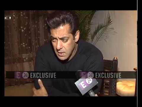 SALMAN KHAN Special & Exclusive INTERVIEW   E24 Bollywood Reporter