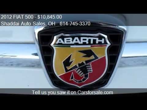 2012 FIAT 500 2 doors for sale in Whitehall, OH 43213 at the