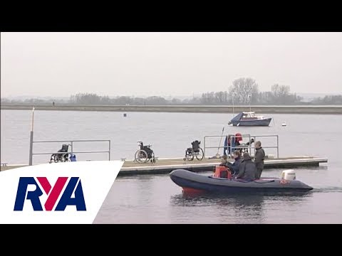 Disabled Sailing - Accessing the water from a pontoon with David Newton