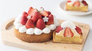 いちごタルトの作り方 Strawberry Tart|HidaMari Cooking