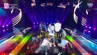 Copyrightⓒ2018 SBS Contents Hub Co., Ltd. & YG Entertainment Inc. All rights reserved. [iKON – '바람(FREEDOM)' 0805 SBS Inkigayo] *NAVER TVcast로 보기 ...