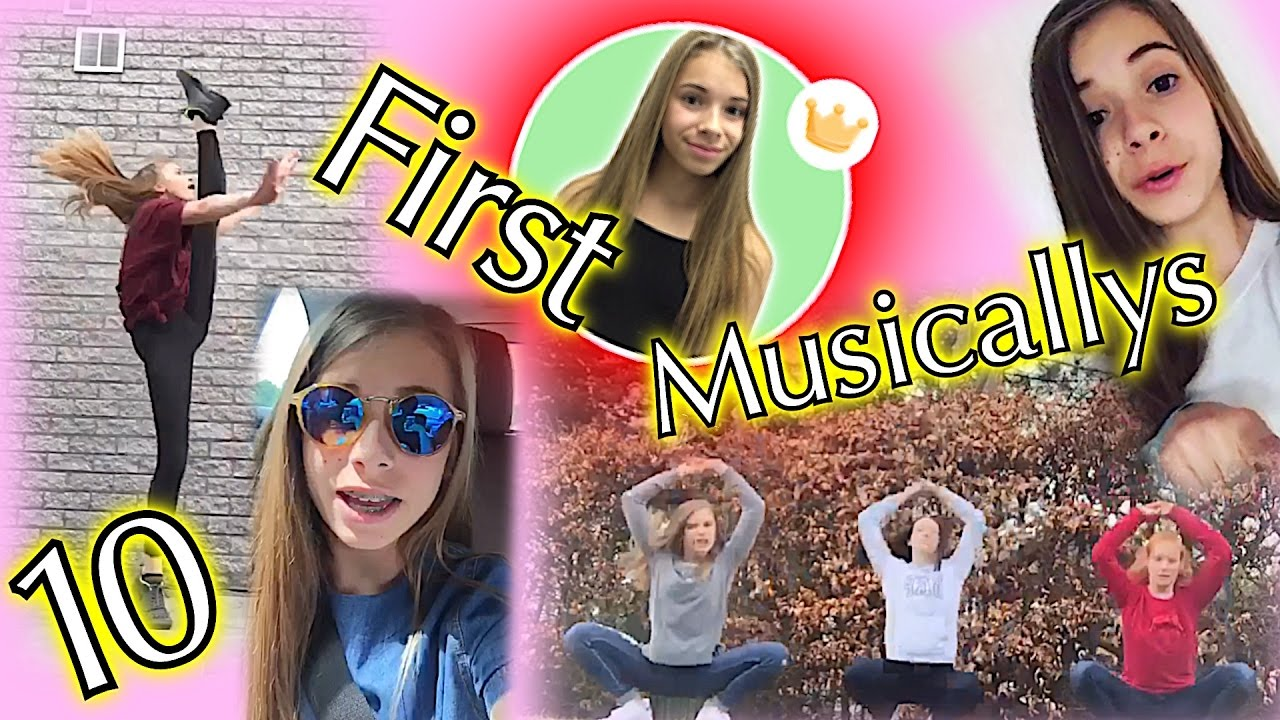 My First 10 Musicallys Youtube