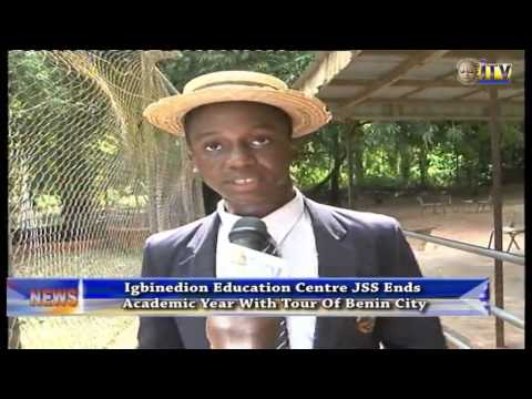 IEC JSS ends Academic Year with tour of Benin City