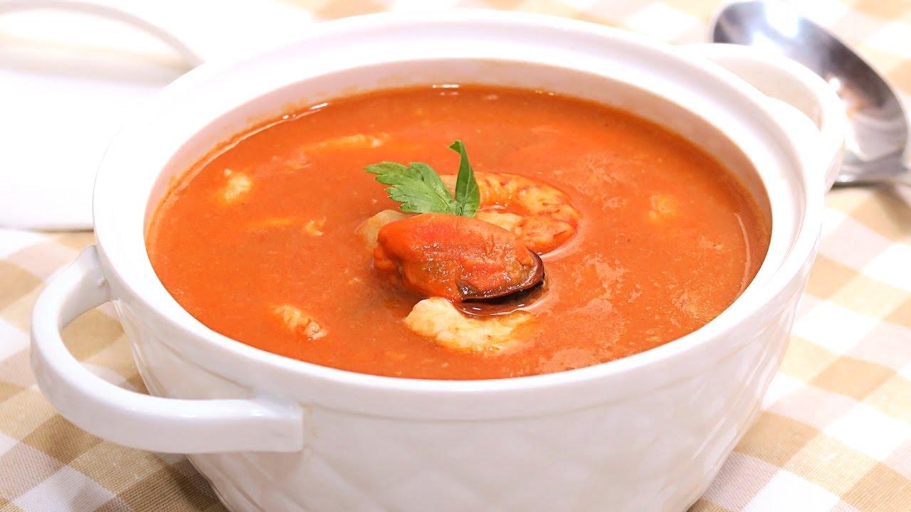 Sopa de pescado y marisco receta sencilla y deliciosa - Sopa de marisco y pescado ...