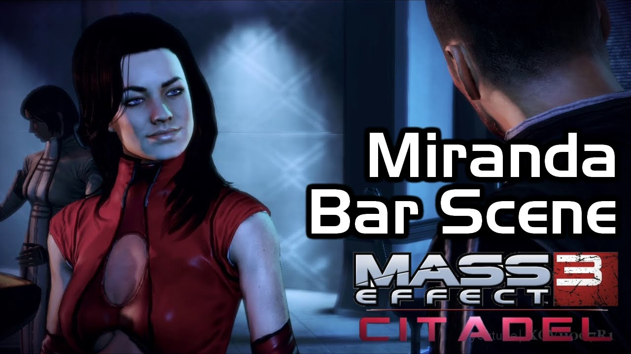Mass effect 3 dating miranda
