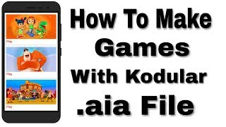 Make android game earning app with appybuilderfree aia file