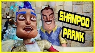 SHAMPOO PRANK PRANK REVENGE - Hello Neighbor Mod