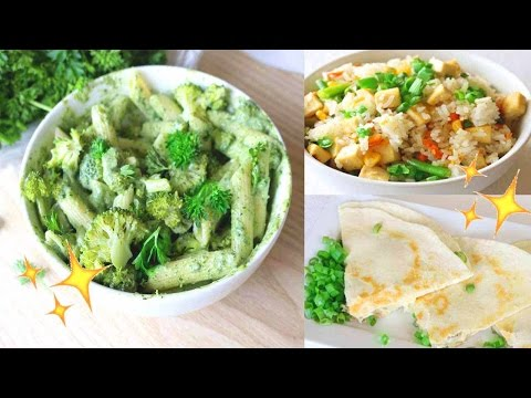Easy & Healthy Dinner Ideas // Vegan Recipes ?