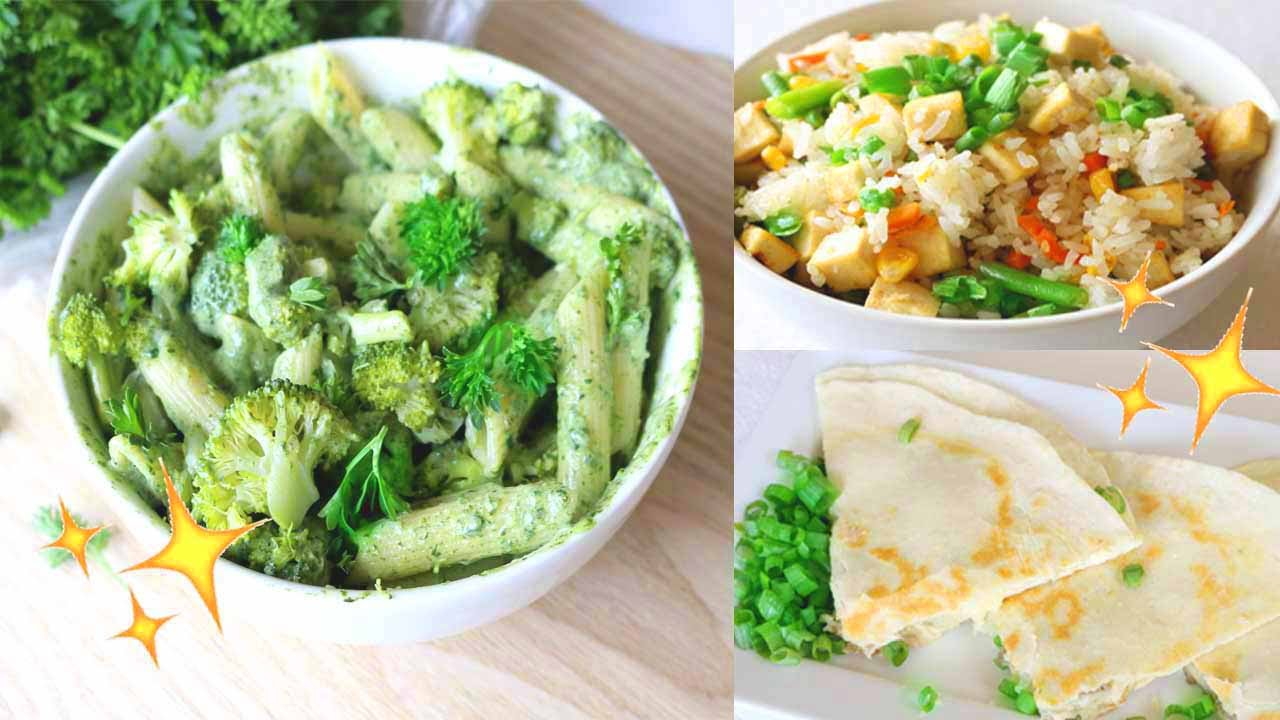 Easy Healthy Dinner Ideas Vegan Recipes