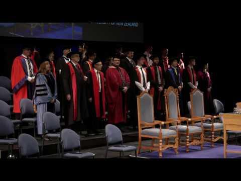Graduation April 2017 - Auckland - Ceremony 3   Massey University