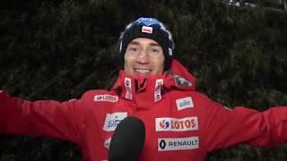 Kamil Stoch: Na rodeo trzeba złapać rytm! [12.01.2019]