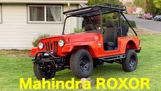 Mahindra RoxoR Build