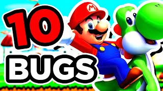 10 BUGS sur New Super Mario Bros. Wii