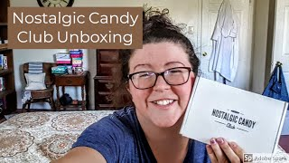 Nostalgic Candy Club Subscription Unboxing | April 2018