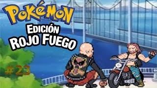 Paseo por el camino de bicis/Pokémon Rojo Fuego capítulo 23