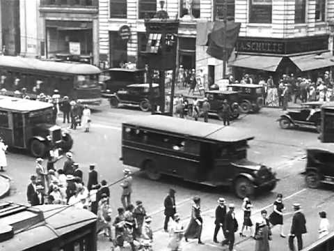 Sightseeing in Newark, N.J. (1926) - Newark, NJ in 1920s - CharlieDeanArchives / Archival Footage