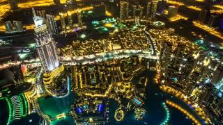 видео Фотообои Ночной город