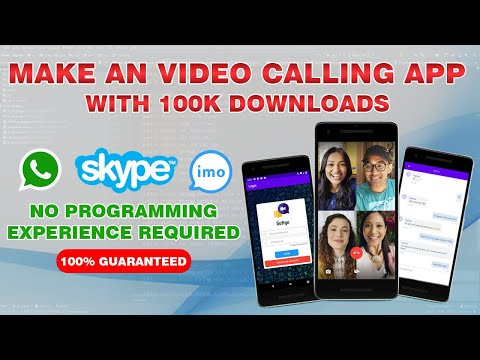 Android Video Calling App like Whatsapp and IMO Tutorial in Hindi/Urdu