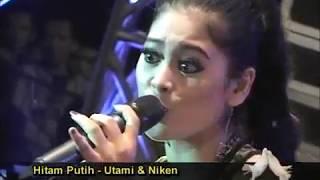 Hitam Putih ~ Utami & Niken OM MONATA live Trimulyo 2013 Koplo Lawas Lagu Enak